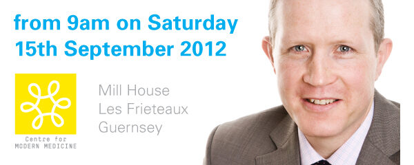 Open event in Guernsey – Saturday 15th September 2012