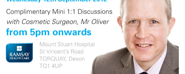 Open event at Mount Stuart Hospital, Torquay