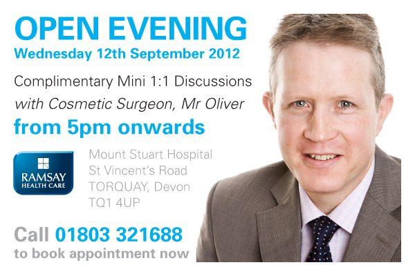 David Oliver Open Evening at Mount-Stuart, Torquay