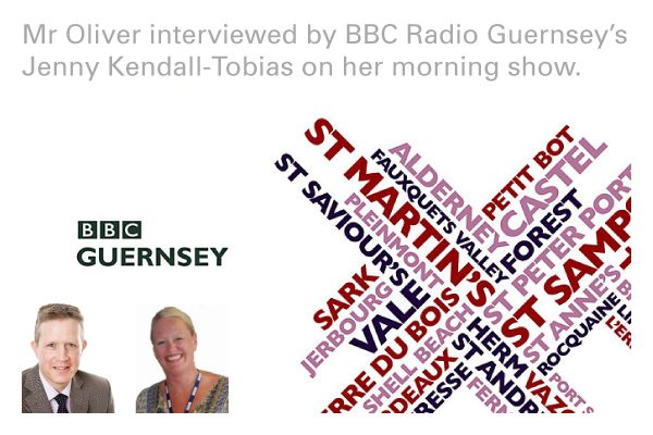 David Oliver interview on BBC Radio Guernsey