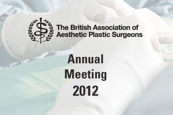 BAAPS Annual Meeting Event attended by Plastic Surgeon David Oliver