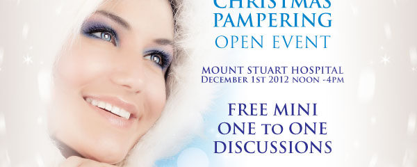 Christmas Pampering Open Event in Torquay