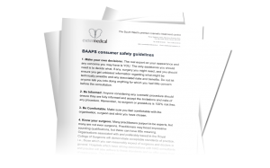 BAAPS cosmetic surgery consumer information download from David Oliver Cosmetic Surgeon