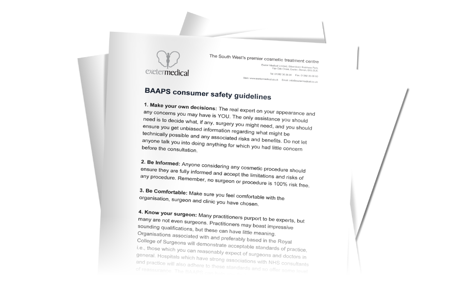 BAAPS Surgery Consumer Information