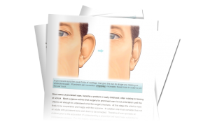 BARAS ear surgery information download from David Oliver otoplasty Surgeon