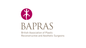 Link to BAPRAS from Cosmetic Surgeon David Oliver website