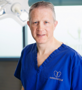 David Oliver Cosmetic Surgeon Exeter Torbay Guernsey for breast, body and face surgery
