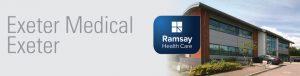 David Oliver appointments at Exeter Medical header