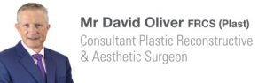 David Oliver cosmetic surgery website header
